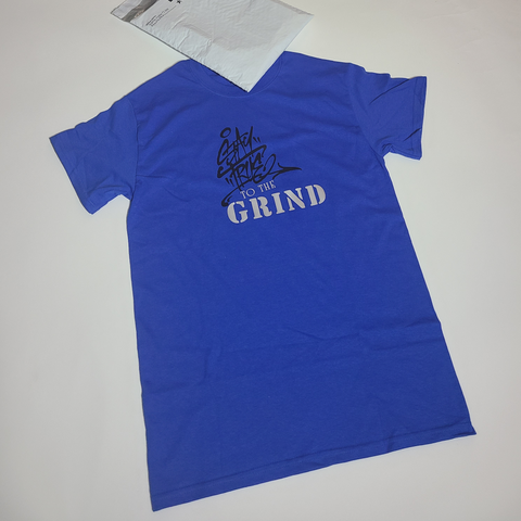 "Royal Blue ""StayTrueToTheGrind"" Shirt"