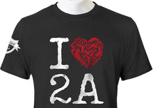 "Load image into Gallery viewer, ""I Heart 2A"" T-Shirt"