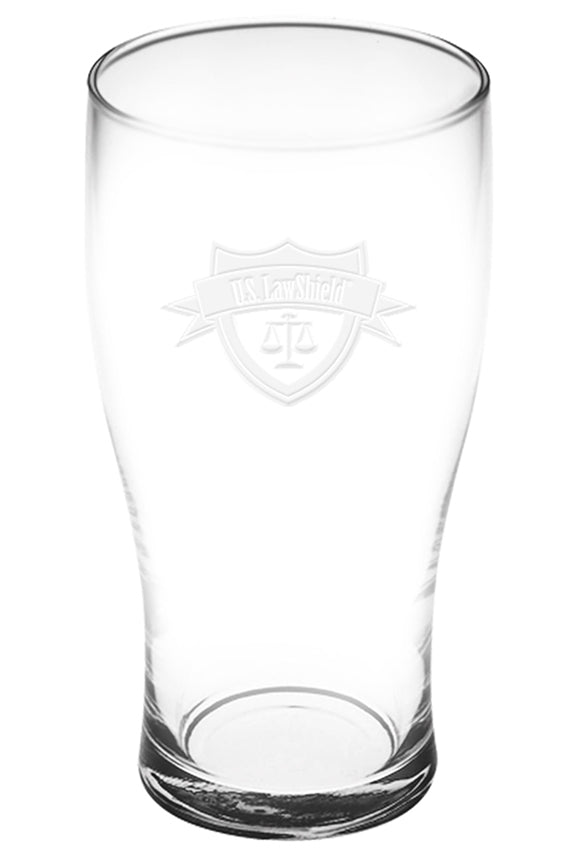 U.S. LawShield Pub Glass Set