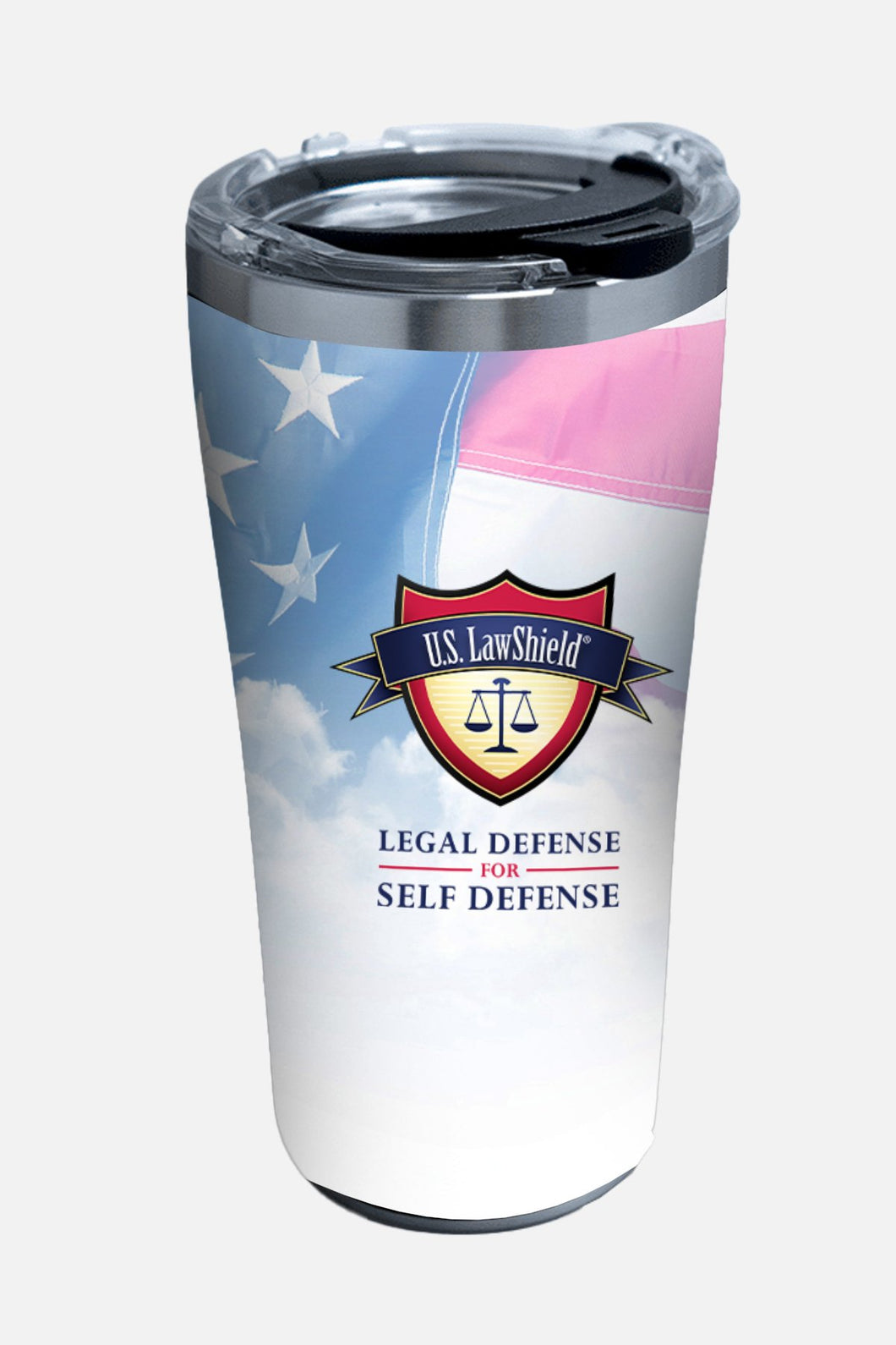 20 oz U.S. LawShield Stainless Tervis ® tumbler with lid