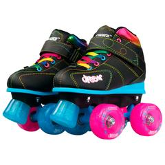 DREAM ROLLER SKATES QUAD SKATES WITH LIGHT-UP WHEELS