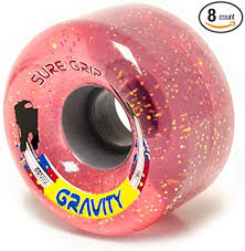 Sure-Grip Gravity Glitter Outdoors Roller Skate Wheels