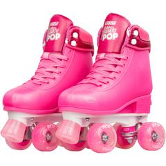 GLITTER POP ROLLER SKATES SIZE ADJUSTABLE QUAD SKATE