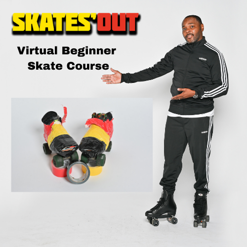 Skates'Out Virtual Beginner Roller Skate Course Youth or Adult