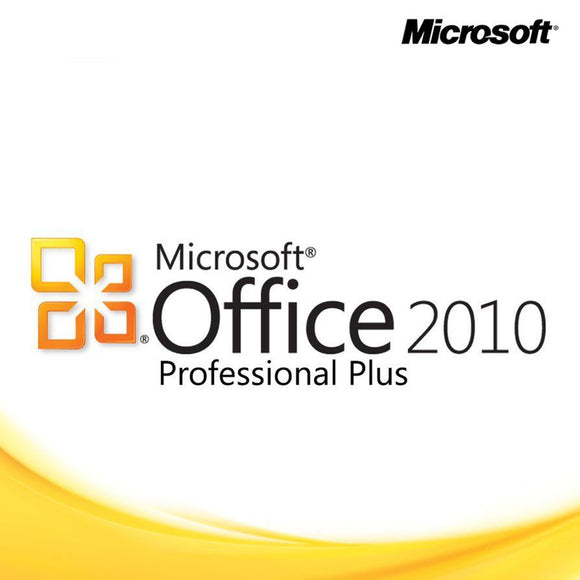 Microsoft office 2010 professional plus product key deliver by email