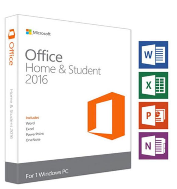 Microsoft Office Home & Student 2016 Product Key Digital Delivery