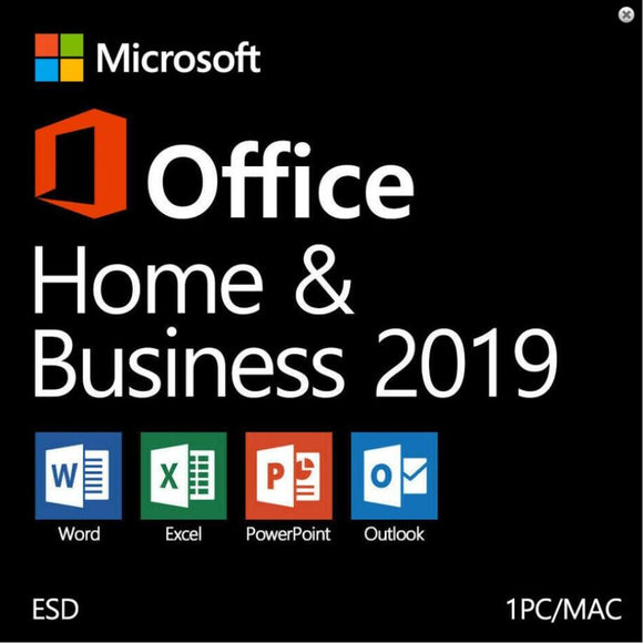Microsoft Office 2019 Home & Business for MAC Product key Digital Delivery