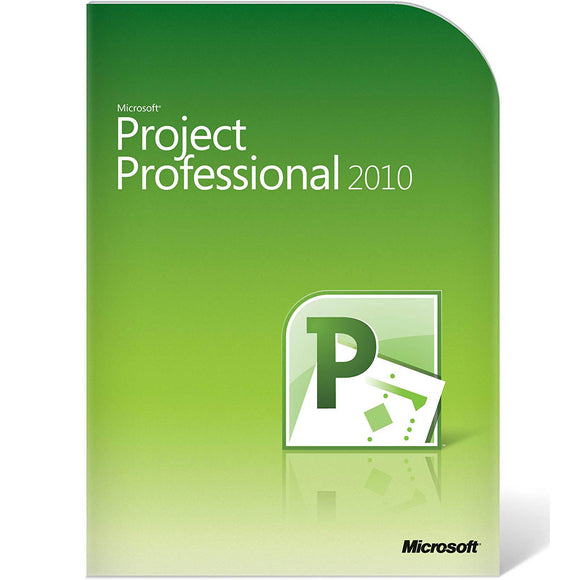 Microsoft Project 2010 Professional Product Key Download Sent by Email