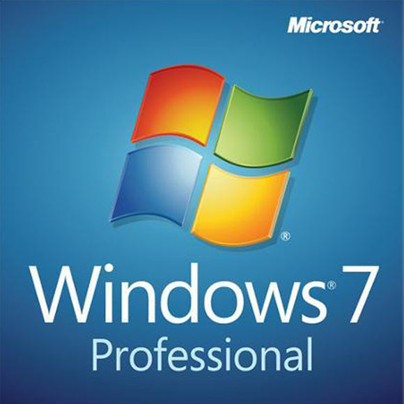 Microsoft Windows 7 professional pro Product KEY Digital download