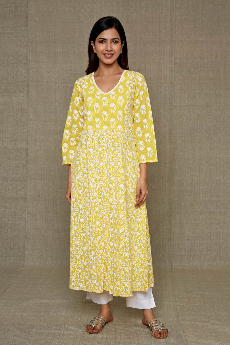 Lemon Lime Kurta