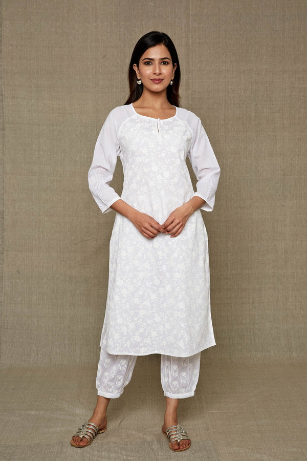 French Vanilla Kurta