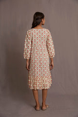 Peach Blossom Dress