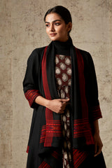 Black Shawl Wrap WB