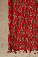 Red Diamond Dupatta