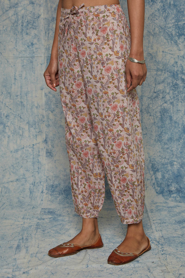 Mauve Chintz Trouser