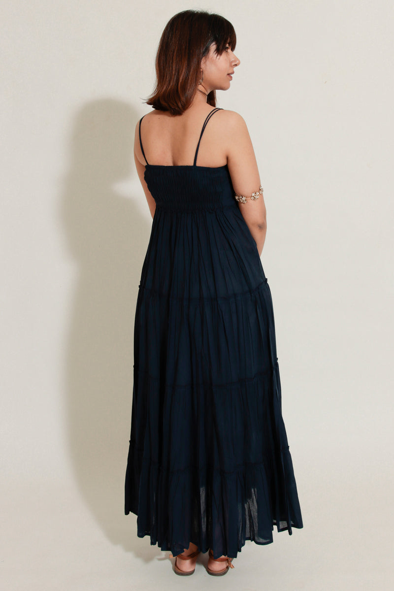 Indigo Strappy Dress
