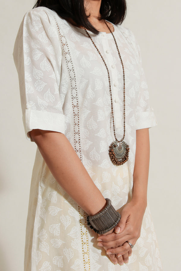Kurta With Lace
