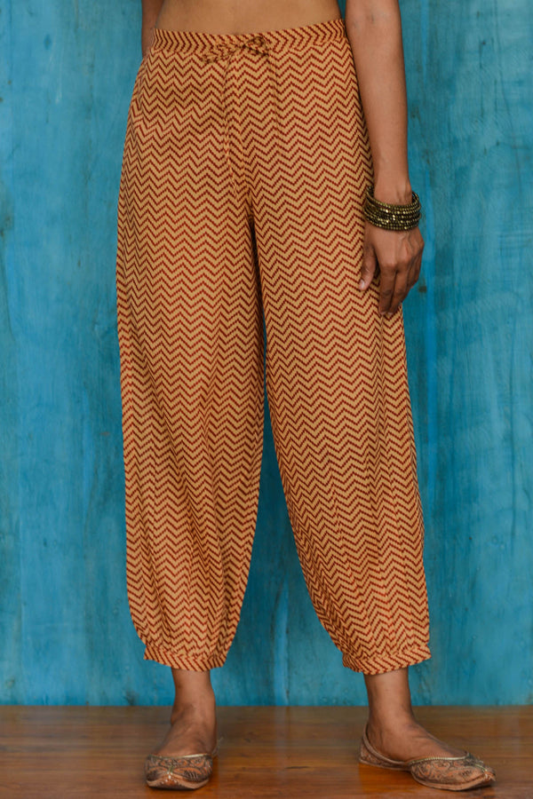 Zigzag Stripes Trousers