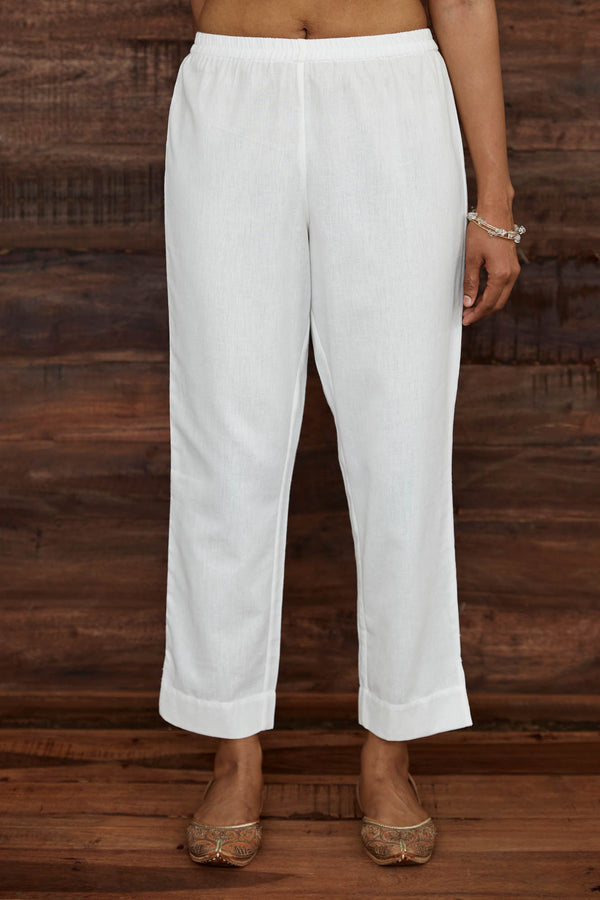 Off White Narrow Trouser