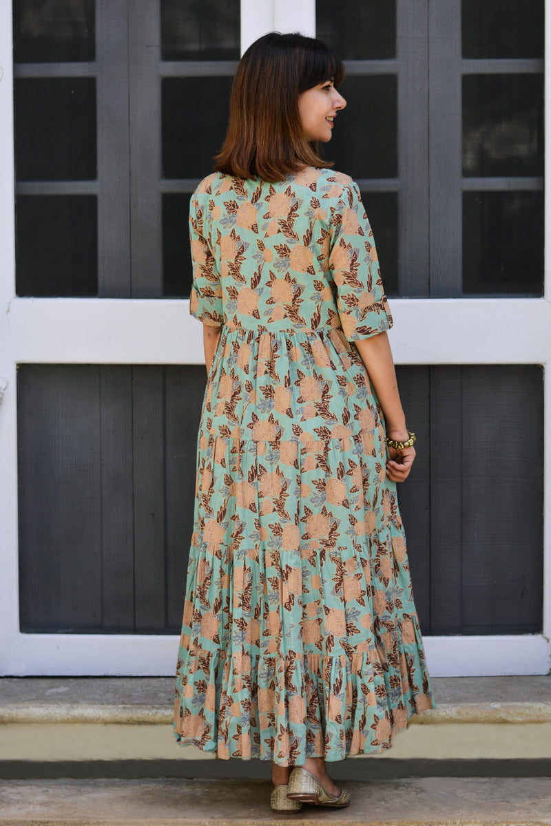 Chrysanthemum Tiered Dress