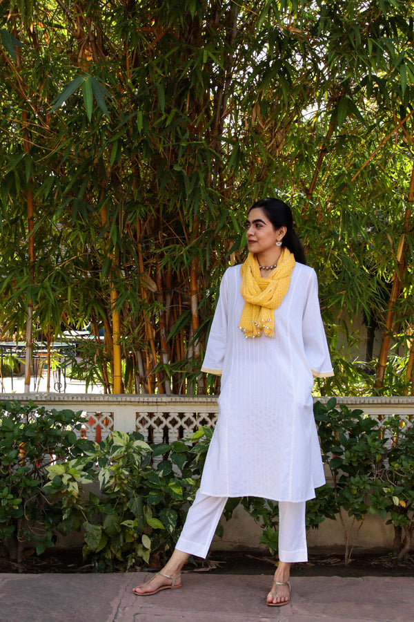 Pin Tucked Kurta