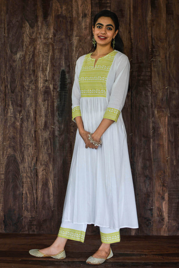 Key Lime Kurta