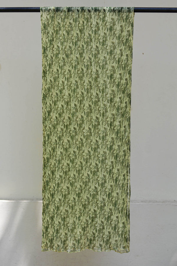 Green Liliums Dupatta