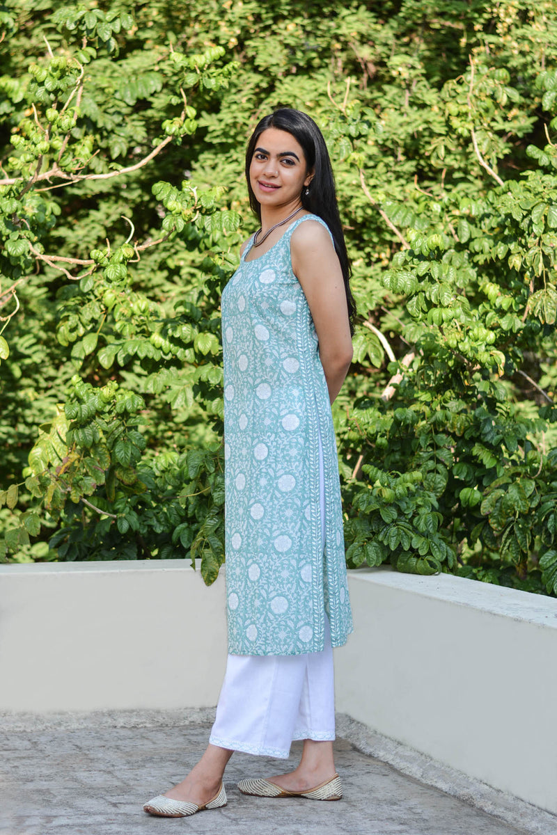 Jaal and Bel Kurta