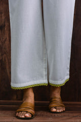 Green Lace Trouser