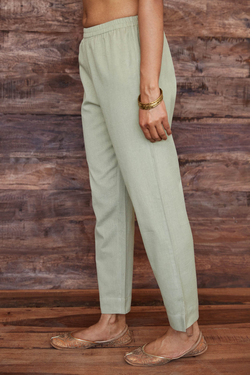 Sage Flax Trouser