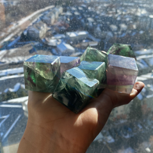 Load image into Gallery viewer, Flourite Cubes