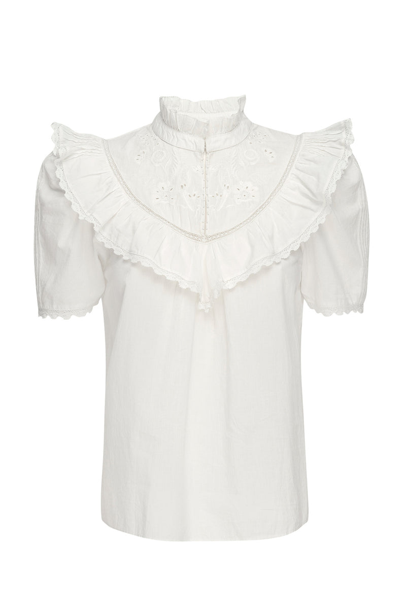 NAN TOP – WHITE