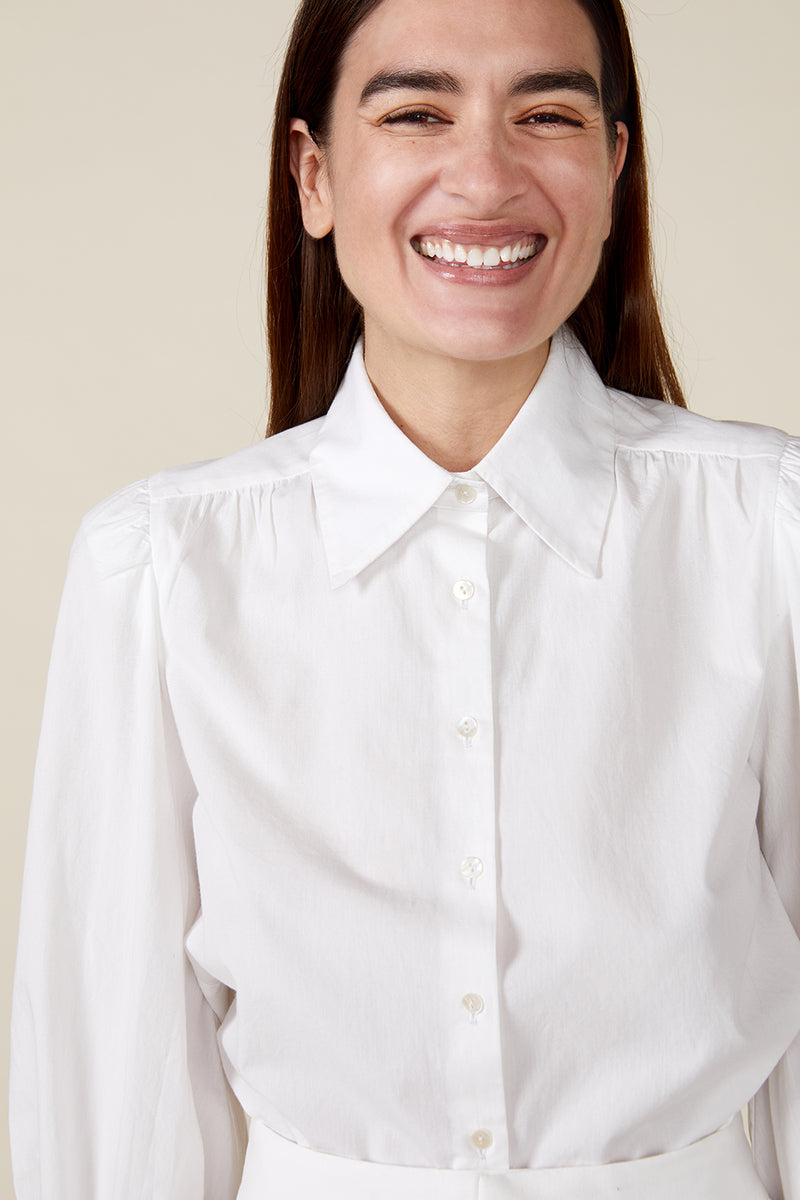 VITA BLOUSE, WHITE