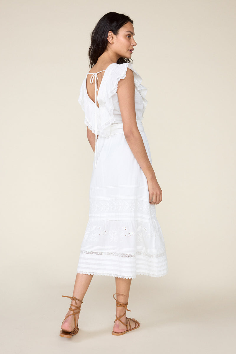 WONDERLAND DRESS – WHITE