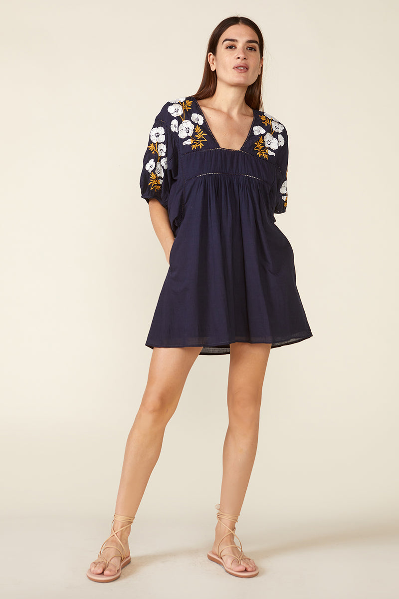 LAKE MINI DRESS – NAVY