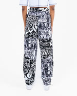 Load image into Gallery viewer, EXPECT RESISTANCE PANELED TROUSERS (PRINTED)