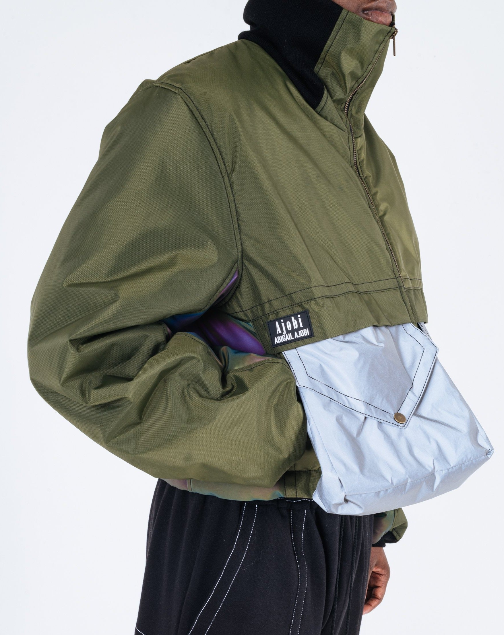 THE MANDEM CROPPED COAT