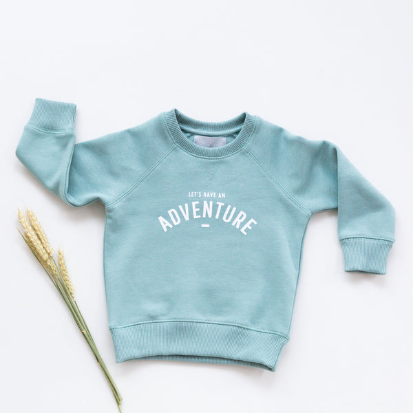 'Let's Have An Adventure' Sweatshirt