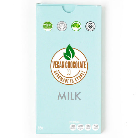 Vegan milk chocolate