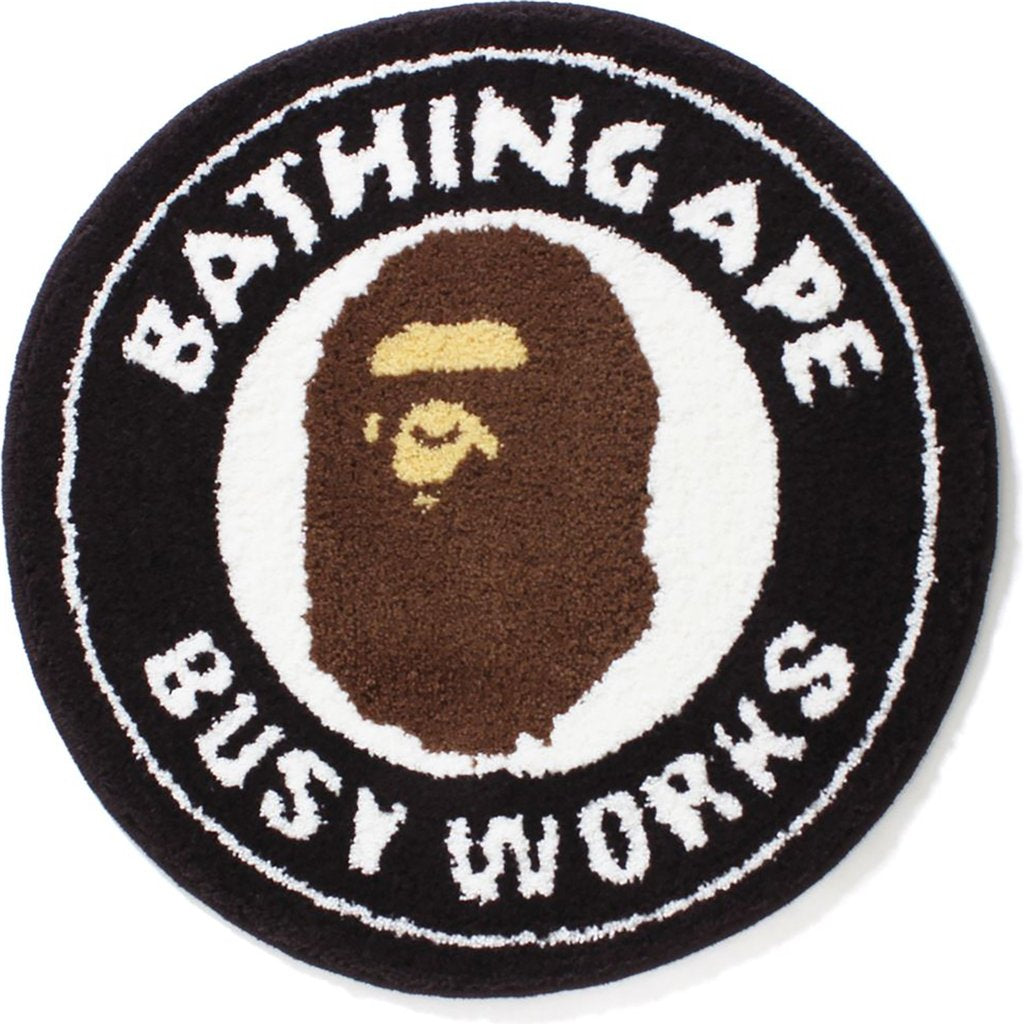 BAPE Busy Works Rug Mat Black
