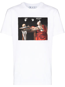 OFF-WHITE Caravaggio Slim T-Shirt White