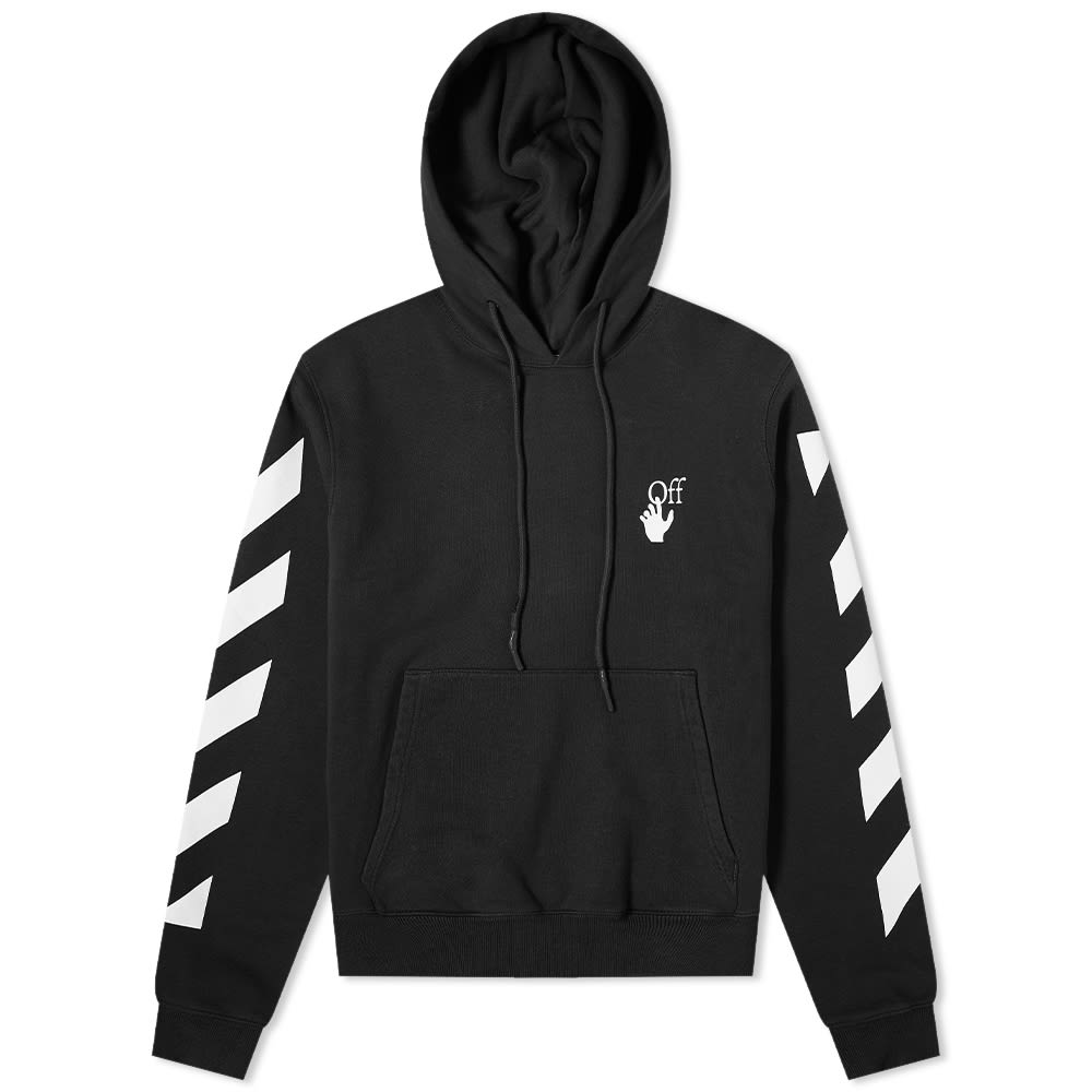 Off-White Agreement Slim Hoodie Black