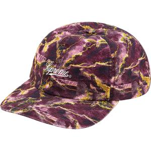 Supreme Marble 6-Panel Purple