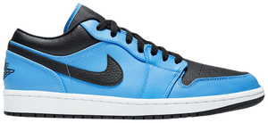 Air Jordan 1 Low Black University Blue