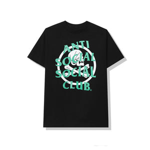 Anti Social Social Club x Neighborhood Cambered Tee Black Pine