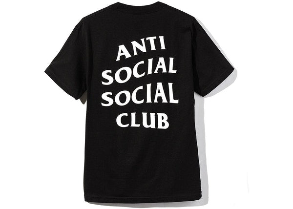 Anti Social Social Club Logo 2 Tee (SS20) Black