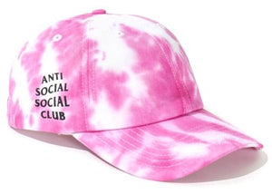 Anti Social Social Club Once Upon A Time Cap Pink/White