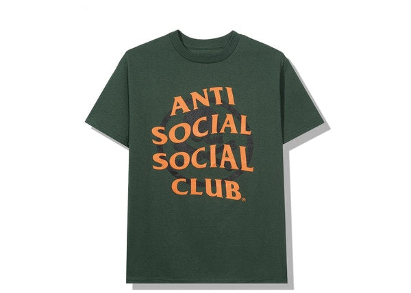 Anti Social Social Club x Neighborhood Cambered Tee Green