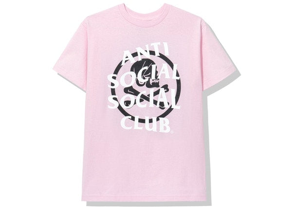 Anti Social Social Club x Neighborhood Cambered Tee Pink