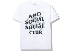 Anti Social Social Club x Neighborhood Cambered Tee White Grey